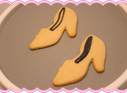 How to Make High Heel Leopard Print Cookies
