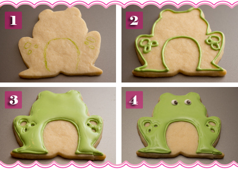 How To Make Frog Cookies