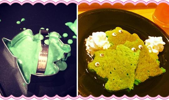 Frog Pancakes