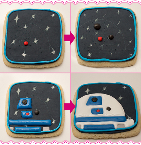 How To Make R2D2 Cookies