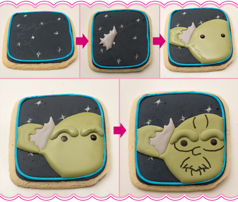 How To Make Yoda Cookies