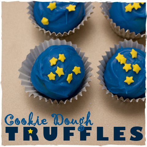 Cookie Dough Truffles - sugarkissed.net