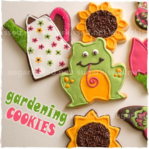 Gardening Cookies