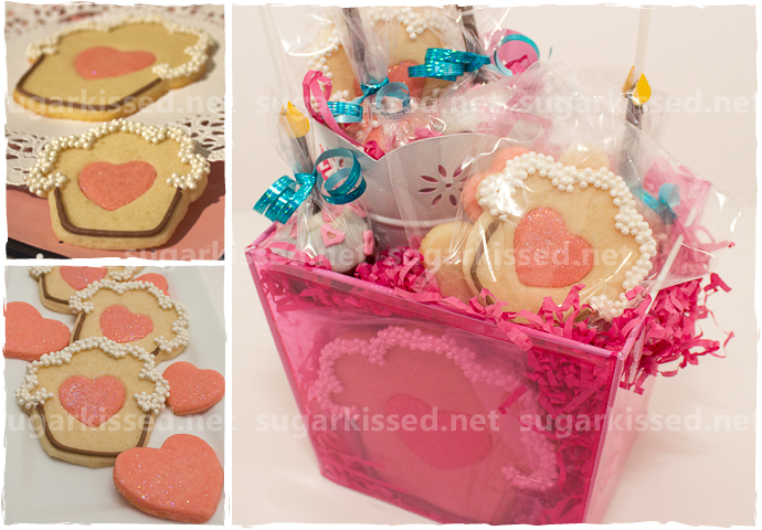 Heart Cupcake Cookies - sugarkissed.net