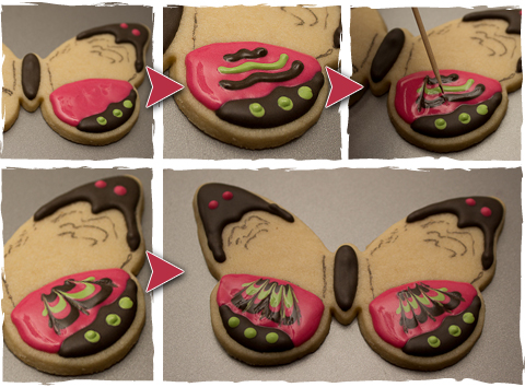 How To Make Butterfly Cookies