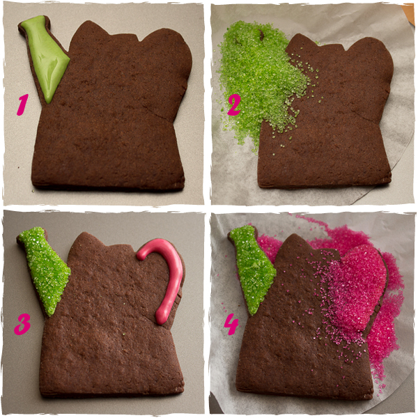 How To Make Watering Can Cookies