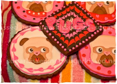 Pug Cookies