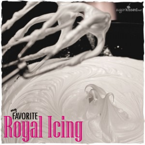 Royal Icing Recipe - sugarkissed.net