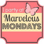 Marvelous Monday Link Party