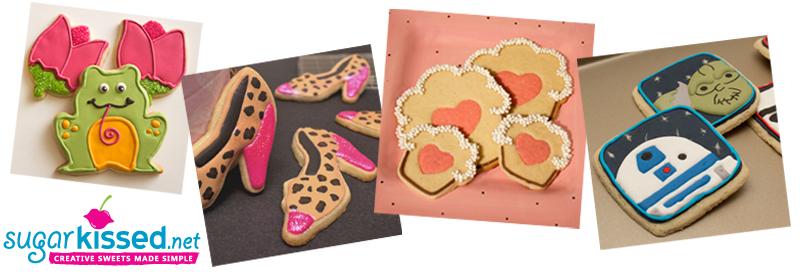 Decorated Cookies - sugarkissed.net