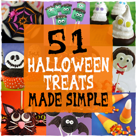 51 Halloween Treats Made Simple - sugarkissed.net