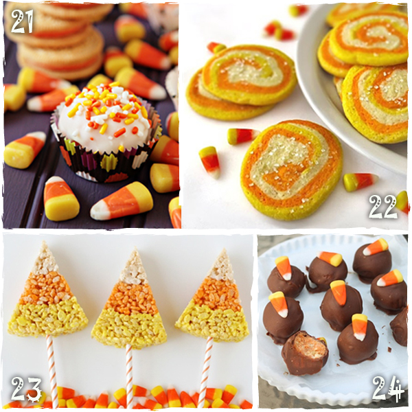 Halloween Candy Corn Treats