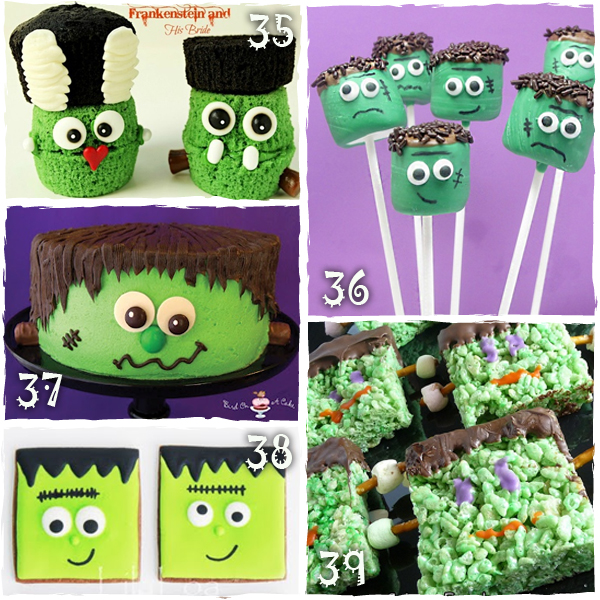 Halloween Frankenstein Treats