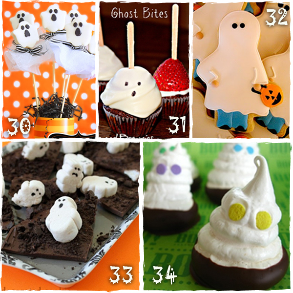 Halloween Ghost Treats