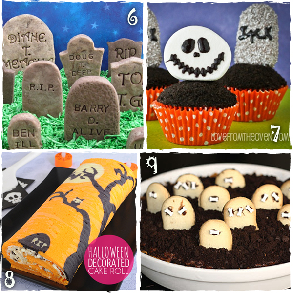 Halloween Graveyard Treats