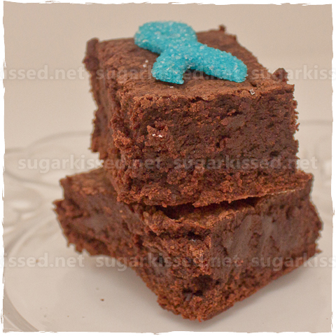 Ovarian Cancer Awareness Brownies