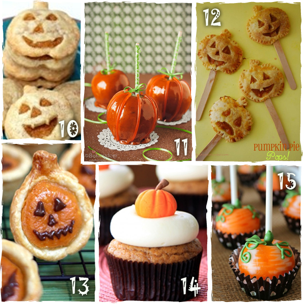 Halloween Pumpkin Treats