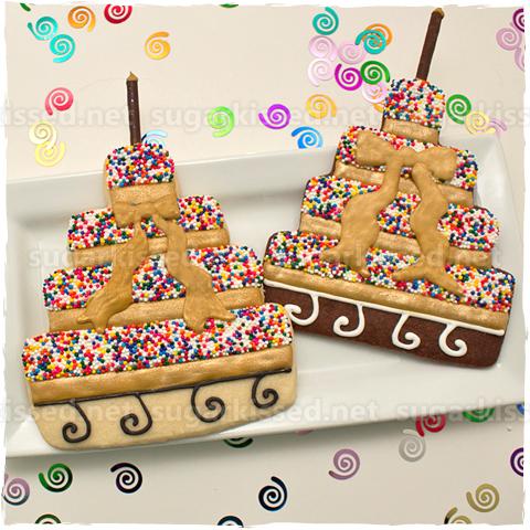 Sprinkle Cake Cookies - sugarkissed.net