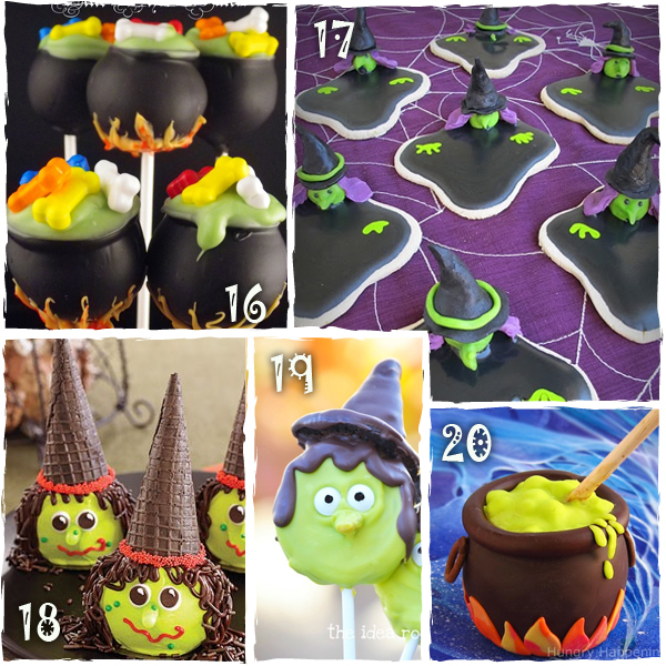 Halloween Witch Treats
