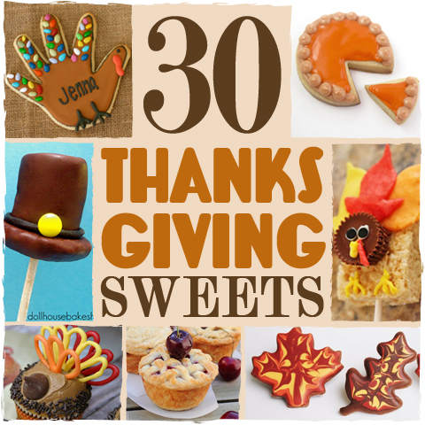 30 Thanksgiving Treats