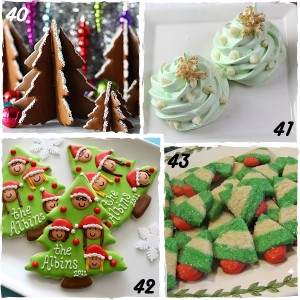Christmas Tree Decorated Christmas Cookies - sugarkissed.net