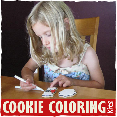 Cookie Coloring Kits - sugarkissed.net