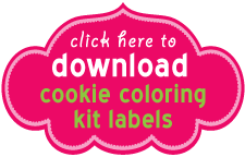 Download Cookie Coloring Kit Labels