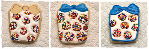 Present Birthday Cookies - sugarkissed.net