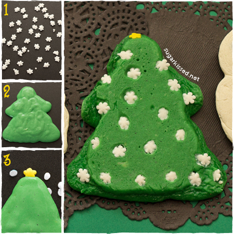 Christmas Tree Pancakes | sugarkissed.net