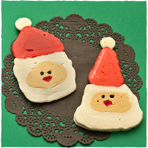 Santa Pancakes | sugarkissed.net