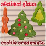Stained Glass Christmas Cookies | sugarkissed.net