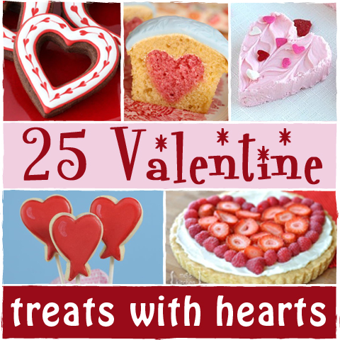 Valentine Treats with Hearts