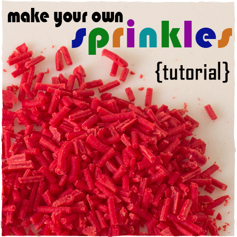 How To Make Sprinkles | sugarkissed.net