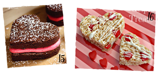 Valentine Brownies & Bars with Hearts | sugarkissed.net