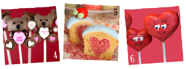 Valentine Cakes & Cupcakes with Hearts | sugarkissed.net