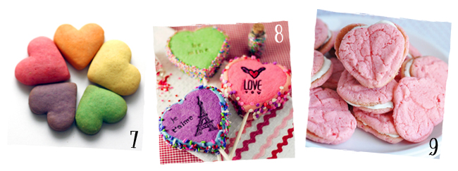 Valentine Cookies with Hearts | sugarkissed.net
