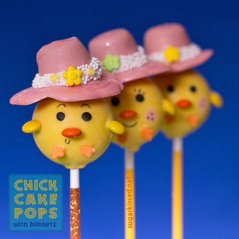 Chick Cake Pops - sugarkissed.netChick Cake Pops - sugarkissed.net