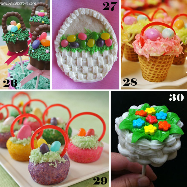 51 easter sweets made simple with tutorials and recipes easter basket easter sweets negle Images