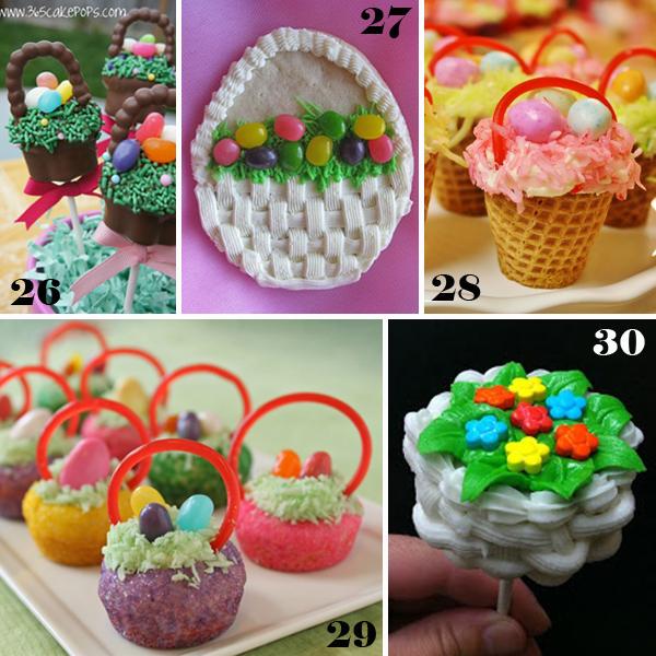 Easter Basket Sweets - sugarkissed.net