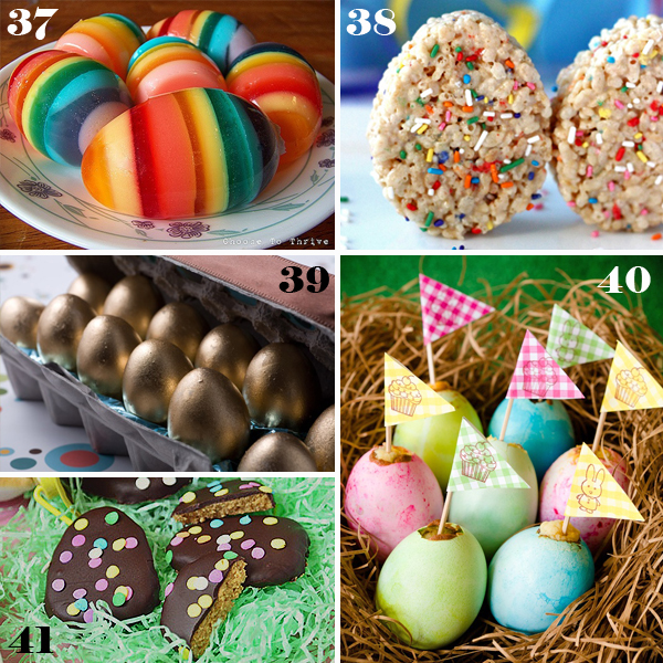 Easter Decorated Egg Sweets - sugarkissed.net