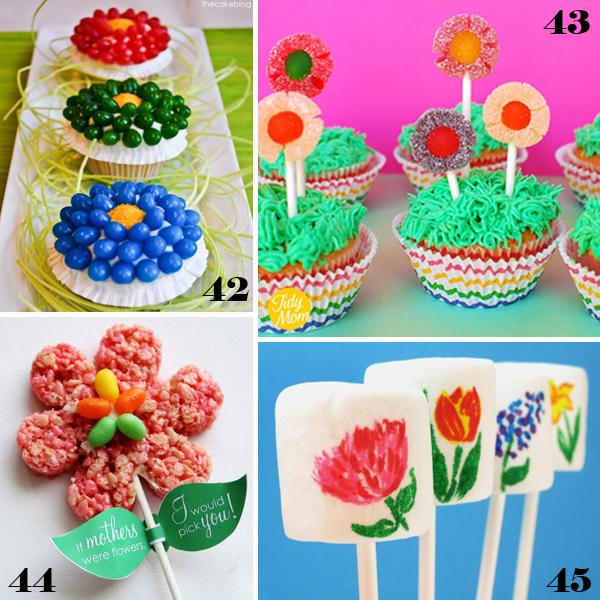 Easter Flower Sweets - sugarkissed.net