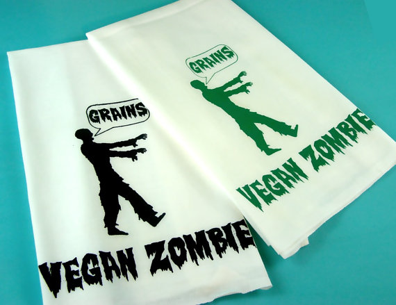 Vegan Zombie Towel