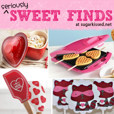 Valentine Sweet Finds at sugarkissed.net
