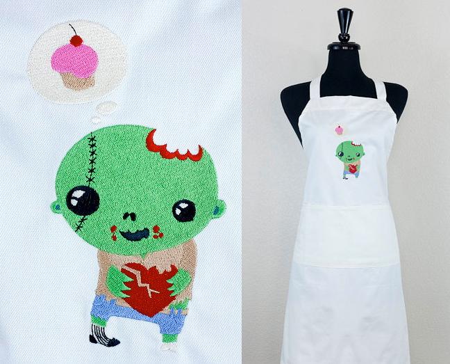 zombie apron