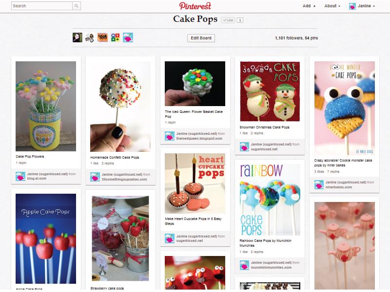Pinterest Cake Pops
