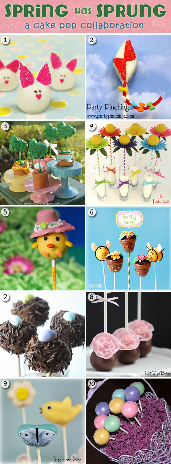 10 Spring Cake Pop Recipes
