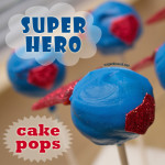 How To Make Super Hero Cake Pops
