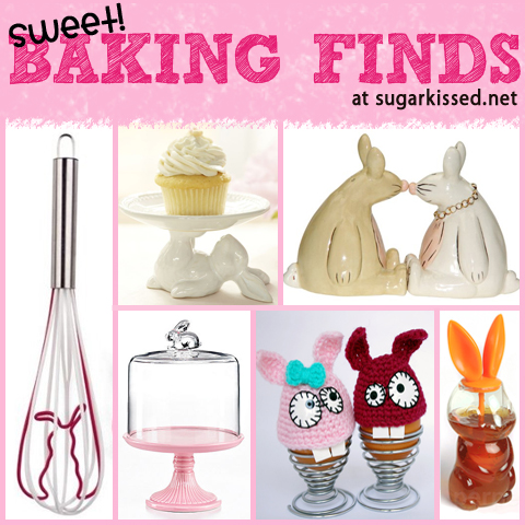 Sweet Easter Baking Find with Bunnies - sugarkissed.net