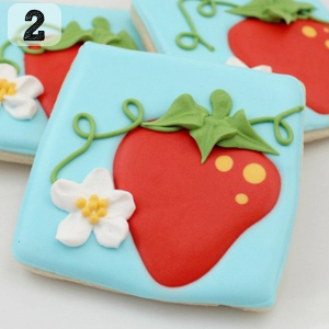 02 Pretty Summer Strawberry Cookies