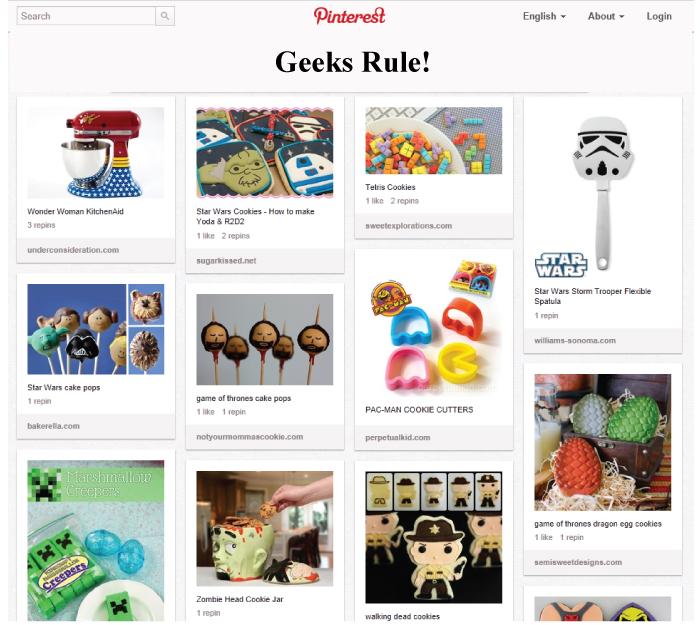 Geeks Rule! Pinterest